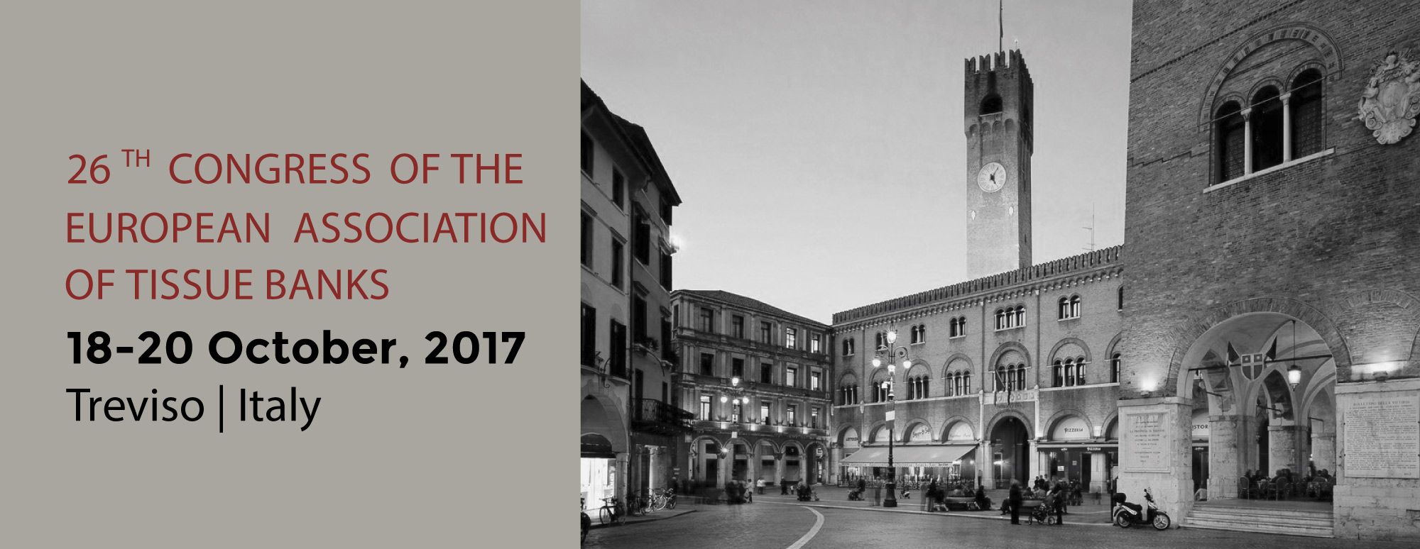 26th Congress of the European Association of Tissue Banks TREVISO